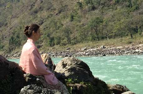 Meditation hilft zu innerer Ruhe, Entspannung, Inspiration und vor allem auch zum persönlichen und spirituellen Wachstum.